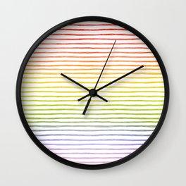 more rainbows please Wall Clock
