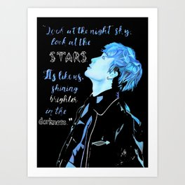 Chan Stray Kids Art Print