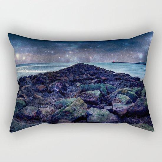 Rocky Road to Eternity Rectangular Pillow