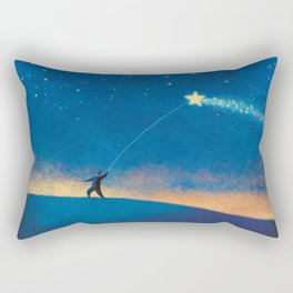 Stars Kite Rectangular Pillow
