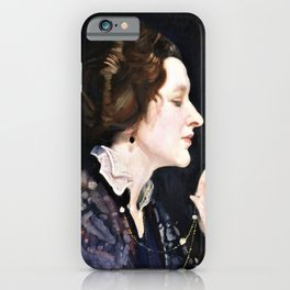 Portrait of a lady, Thea Proctor - George Washington Thomas Lambert iPhone Case