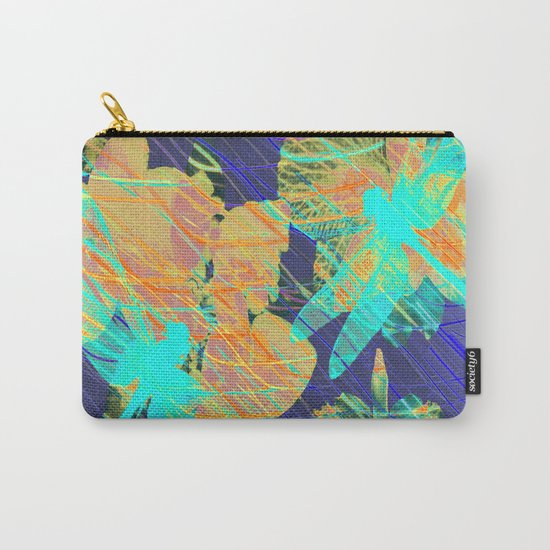 Colorful Dragonflies QD Carry-All Pouch