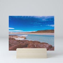 Piedras Rojas (Red Rocks), San Pedro de Atacama Desert, Chile 3 Mini Art Print
