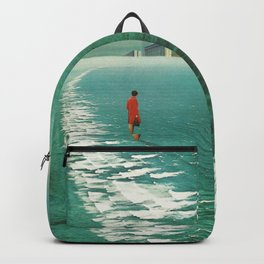 Waiting For The Cities To Fade Out Backpack