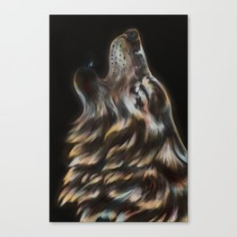 Iridescent Howl Canvas Print