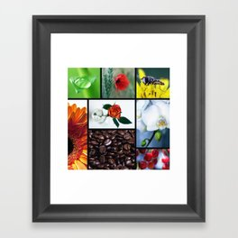 Natur im Herzen  Framed Art Print
