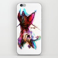 pain iPhone & iPod Skins featuring [PAIN] by Rideth_Mochi