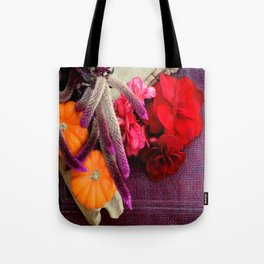 Bloody, Creepy, October-feast For The Eyes Tote Bag