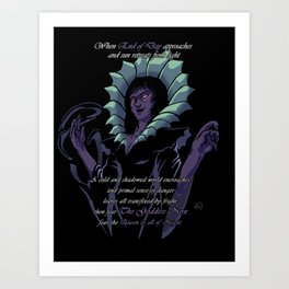 Nox (7 Lords of Fear) Art Print