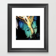 CLODETTE Framed Art Print