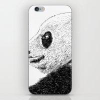 pandas iPhone & iPod Skins featuring pandas by barmalisiRTB