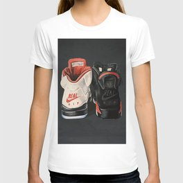 Jordan 6 Real Hip-hop sneakers T-shirt