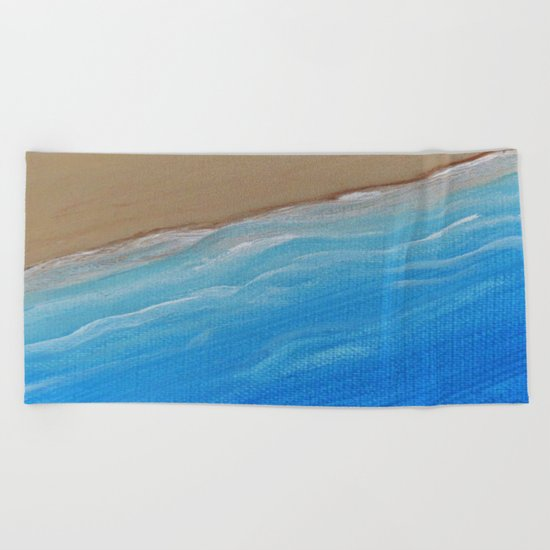 Ocean Shore Beach Towel