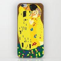 klimt iPhone & iPod Skins featuring klimt by John Sailor