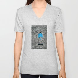 Through a Wall - The Peace Collection Unisex V-Neck
