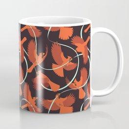 Cardinals with Ribbon Coffee Mug