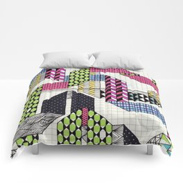 Ribbons with Patterns Comforters
