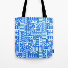 GeoPrint Pattern Tote Bag