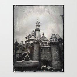 Sleeping Beauty Castle by Topher Adam 2017 Canvas Print