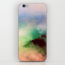 Ethereal Rainbow Clouds - Nature Photography iPhone Skin