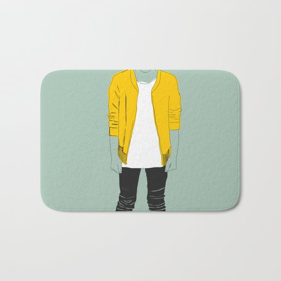 Skater Kid Bath Mat