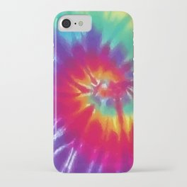 Tie Dye Swirl Pattern iPhone Case