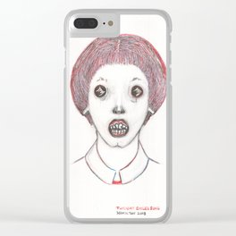 Twilight Child's Song Clear iPhone Case