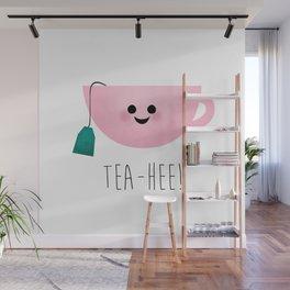 Tea-Hee Wall Mural