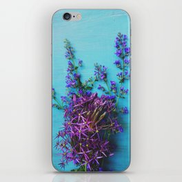 She Found Stray Flowers and Brought Them Home iPhone Skin