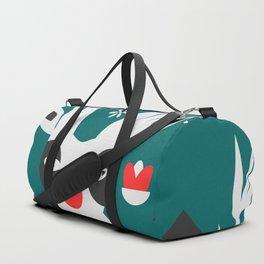 Merry Christmas reindeer Duffle Bag