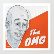 The OMG Canvas Print