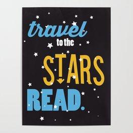 Stars - Just Read Poster