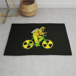 Radioactivity Bike Rug