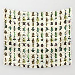 Jeweled Beetles  Wall Tapestry
