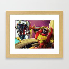 Primus, you guys what?! Framed Art Print
