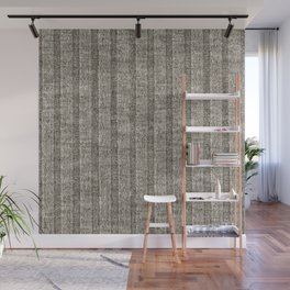 Soft Brown Jersey Knit Pattern Wall Mural