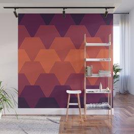 Hexagon Tela Wall Mural