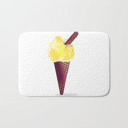 Ice Cream With Chocolate Flake Bath Mat