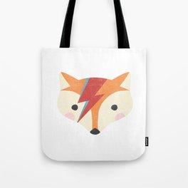 Bowie Fox Tote Bag