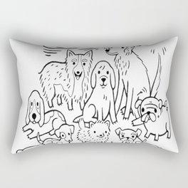 The Best Dog Rectangular Pillow