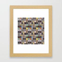 Abacus Framed Art Print