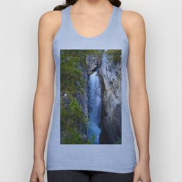 Stanley Waterfall & Beauty Creek, Jasper National Park Unisex Tank Top