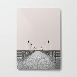 Pier Metal Print