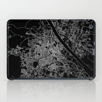 vienna iPad Cases featuring Vienna map by Line Line Lines