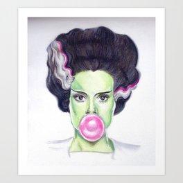 Frankie's Girl Art Print