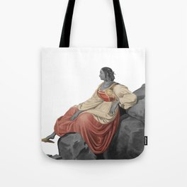 Sardinian woman Tote Bag