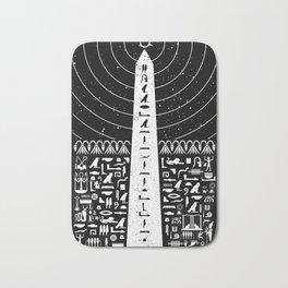 Obelisk of Truth Bath Mat