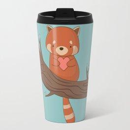 Kawaii Cute Red Panda Travel Mug