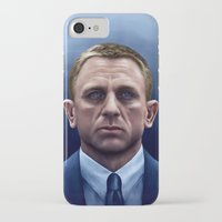 james bond iPhone & iPod Cases featuring James Bond by Vincent Leung