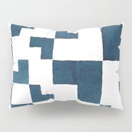 Blue tiles Pillow Sham